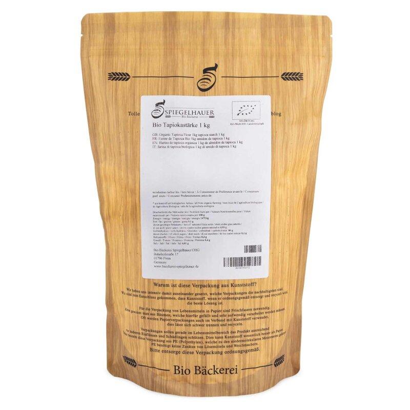 Bio Tapiokastärke Tapiokamehl 1 kg