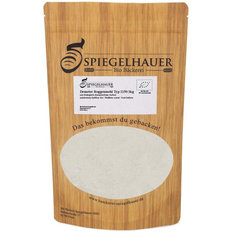 Demeter Roggenmehl Typ 1150 1 kg